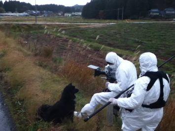 Filming the abandoned town of Itate near Fukushima