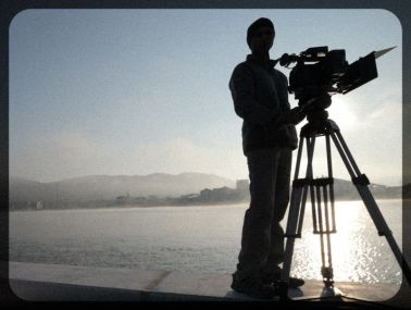 filming on the banks of the kitakami river, sendai prefecture